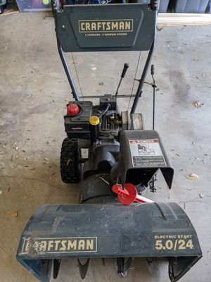 Craftsman Snowblower for Sale in Lothian, MD