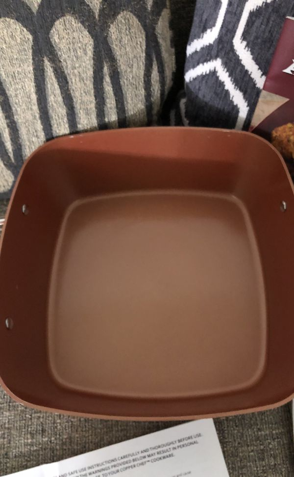 Copper Chef 1 Pan. Please see all the pictures and read the description