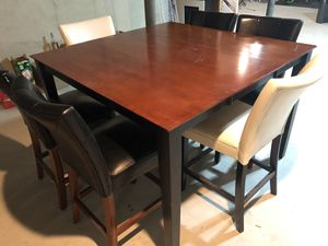 Dining table and chairs for Sale in Morrisville, PA