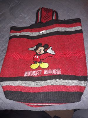 Cloth Mickey Mouse backpack for Sale in North Highlands, CA