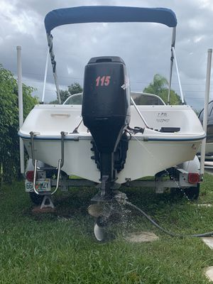 SeaRay 97 Mercury 115 our boat . Good condition for Sale in Port St. Lucie, FL