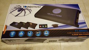 Soundstream Tarantula series 4000Watt AMP for Sale in Chicago, IL