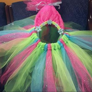 Trolls Birthday Outfit for Sale in Houston, TX