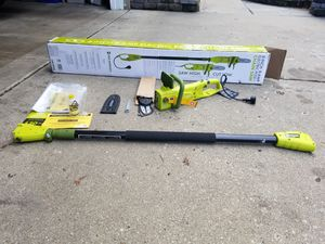 Sunjob electric pole chainsaw for Sale in Highland Park, IL