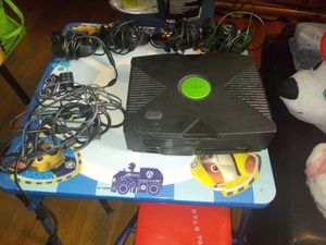 X box and controllers for Sale in Brockton, MA