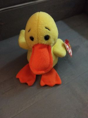 Beanie Babies Quackers Duck for Sale in Souderton, PA