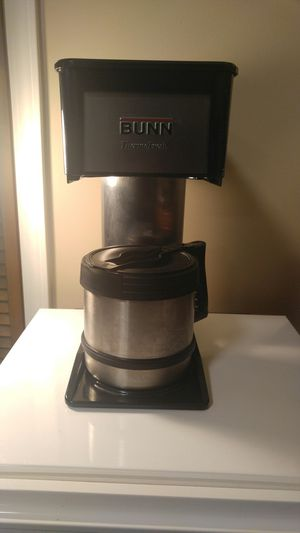 BUNN Coffee Maker - 10 cup - Stainless Steel / Black - Model BX-B for Sale in Columbus, OH