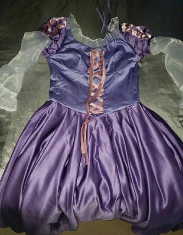 Tangled disney costume halloween adult woman size s-m