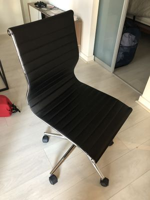 Executive Black Faux Leather Desk Chair for Sale in Washington, DC