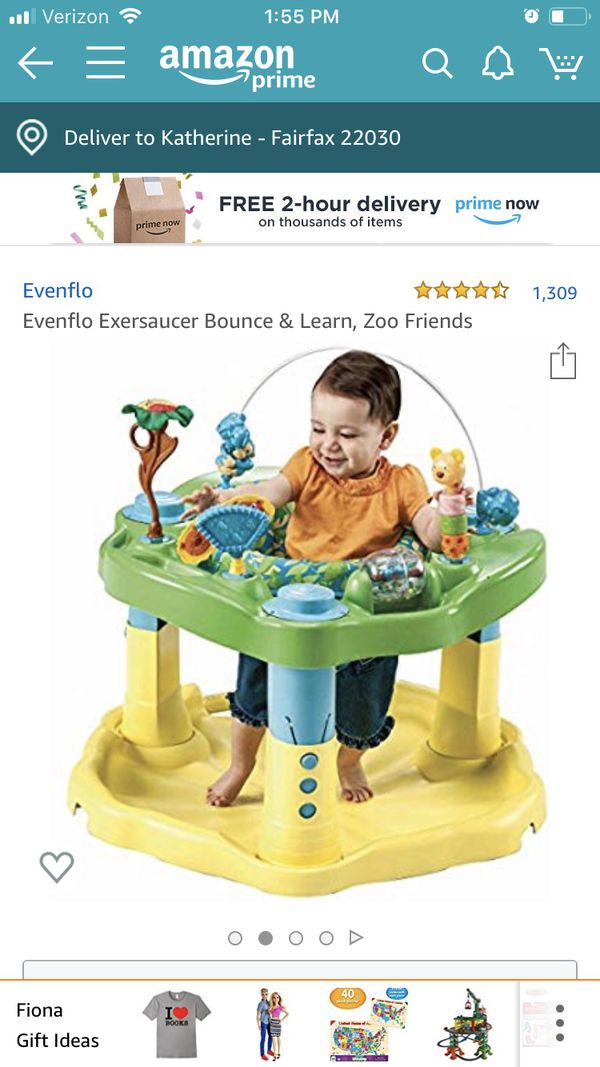 Evenflo Exersaucer Baby Bounce and Learn