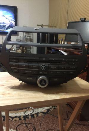 2008 Honda Accord AM/FM CD changer radio for Sale in Portsmouth, VA