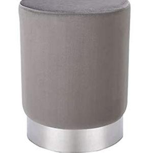 New Grey Velvet Vanity Stool/Ottoman for Sale in Dallas, TX