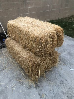 Straw Haybails for Sale in CRYSTAL CITY, CA