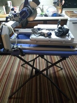kobalt wet saw for tile everything included for Sale in Virginia Beach, VA