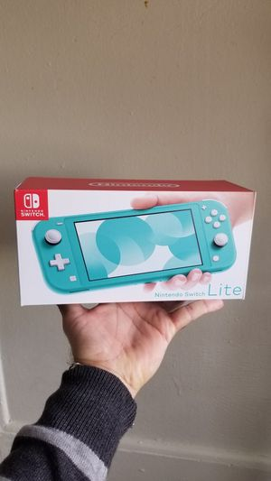 BRAND NEW SEALED NINTENDO SWITCH LITE $190 for Sale in San Bernardino, CA