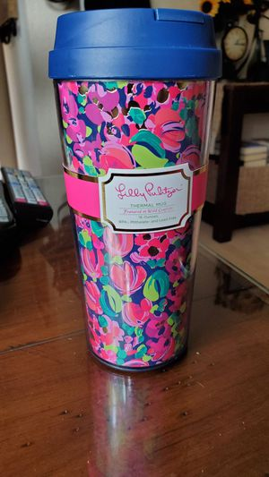 New Lilly Pulitzer Thermal Mug 16oz for Sale in Virginia Beach, VA