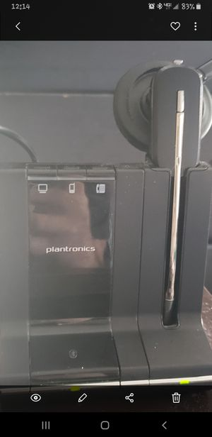 Plantronics savi 7 series for Sale in Fort Worth, TX