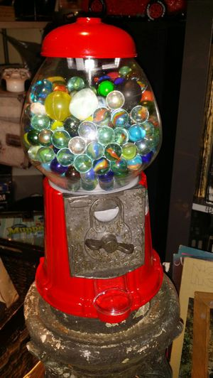 Gumball machine filled with marbles,rocks and crystals for Sale in Seattle, WA