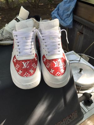 Custom Louis Vuitton Air Force Ones for Sale in Fort Worth, TX