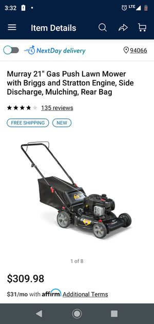 "Briggs and Stratton Motor Powered Murray Lawnmower 21"" for Sale in Dundalk, MD"
