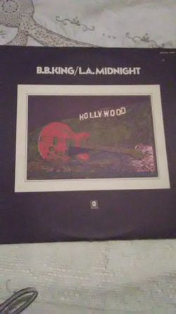 Vinyl B.B. King L.A. Midnight for Sale in Camden,  AL