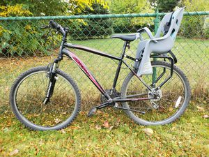 Mountain Bicycle with Child seat for Sale in Elmhurst, IL