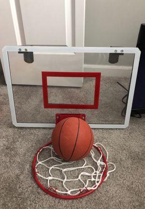 Basketball and door hanging hoop for Sale in Brighton, MI
