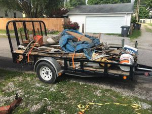 Hauling Trash and Yard waste for Sale in Evansville, IN