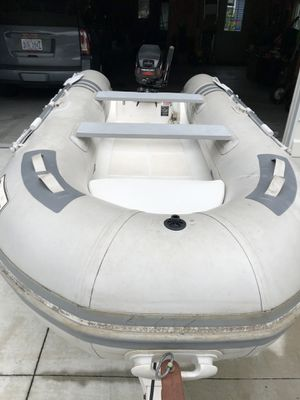 2012 Raider Inflatable Boat hard Bottom and floor. for Sale in Fort Gratiot Township, MI