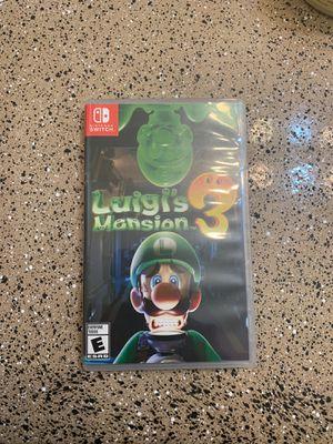 Luigi mansion 3 for Sale in Houston, TX
