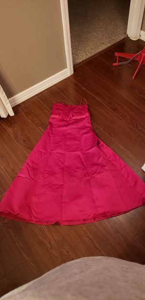 Red sz4 David bridal dress for Sale in Orange City, FL