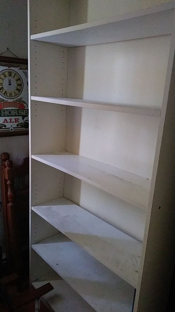 2 Bookcases good shape will accept offers.