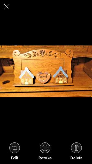 """Handmade """"Home Sweet Home"""" 3 Piece Wood Plaque for Sale in Lynchburg, VA"""