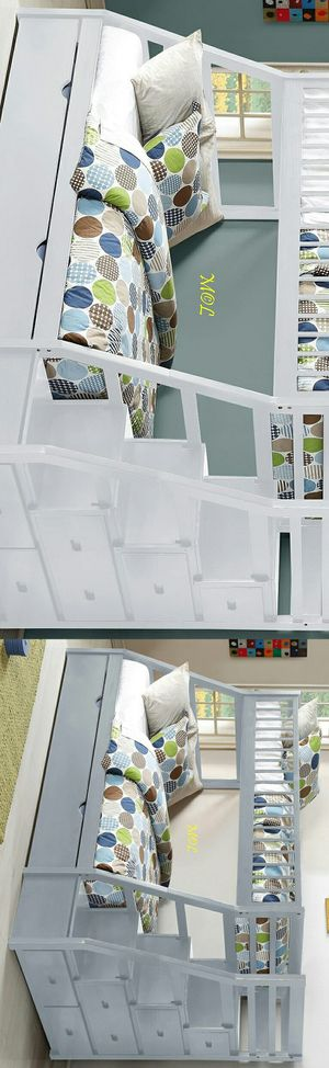 Bunk Bed Twin Over Full with Trundle for Sale in Houston, TX