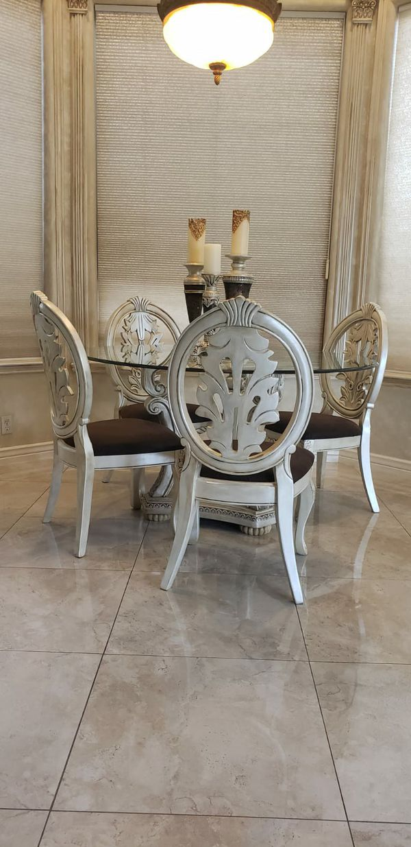 5 piece dining room table chairs for Sale in Scottsdale ...