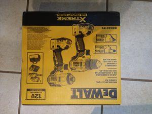 BRAND NEW DEWALT 2 Tool Combo Kit. 12v Max for Sale in Matthews, NC