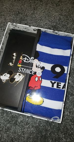 Disney 90 Years Socks/Pins! for Sale in West Chicago, IL