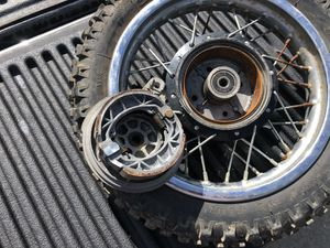 Dirt bike tires and rims for Sale in Parma, OH