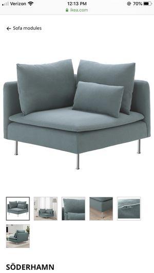 Turquoise Corner Chair for Sale in Kirkland, WA