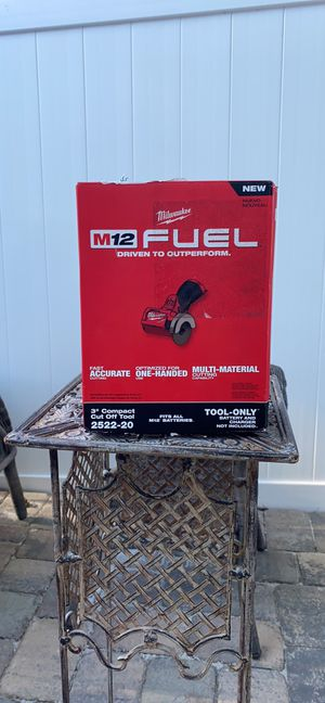 Milwaukee M12 FUEL 12-Volt 3 in. Lithium-Ion Brushless Cordless Cut Off Saw (Tool-Only) for Sale in Orlando, FL