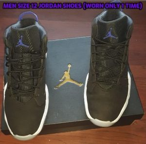 New Jordan Shoes (Worn 1 time) Make an offer for Sale in Coats, NC