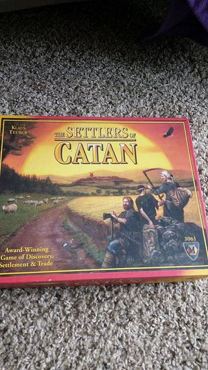 Settlers of Catan for Sale in Austin, TX