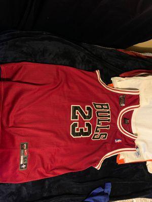MICHAEL JORDAN NBA FINALS NIKE TEAM STITCHED VINTAGE JERSEY XXL 10/10 for Sale in Elburn, IL