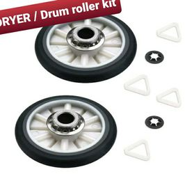 2 PACK *NEW* AP3098345 / DRUM ROLLER KIT - FITS WHIRLPOOL KENMORE SEARS ROPER for Sale in Manchester,  NH