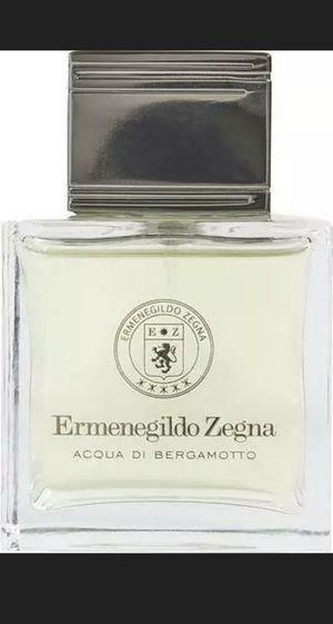 Ermenegildo Zegna Acqua Di Bergamotto Eau de Toilette 3.4 oz Spray Unboxed for Sale in Bell Gardens, CA