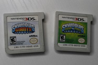 SkyLanders For Nintendo 3ds Lot Authentic for Sale in Copiague,  NY