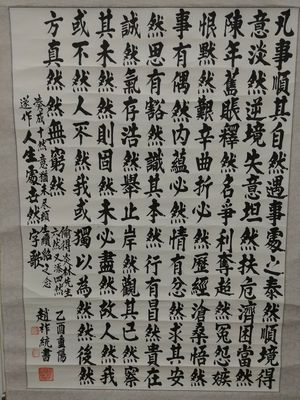 Chinese Calligraphy Art Scroll Painting for Sale in Baltimore, MD