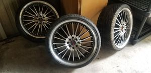 """Giano 18"""" rims for Sale in Gibsonton, FL"""