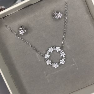 Brand New Sterling Silver 925 Set With Necklace And Earrings for Sale in La Mirada, CA