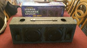 Stereo speaker system two 6.5 subs and two tweeters for Sale in Ridgefield, WA